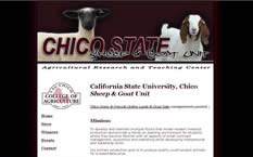 Chico State Sheep & Goat Unit
